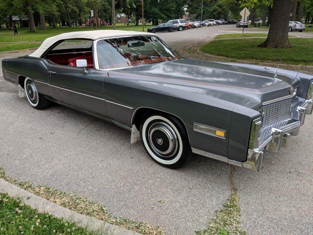 AMAZING 1976 Cadillac Eldorado Convertible