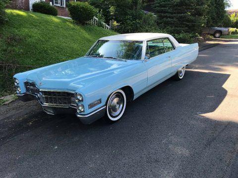 1966 Cadillac DeVille for sale