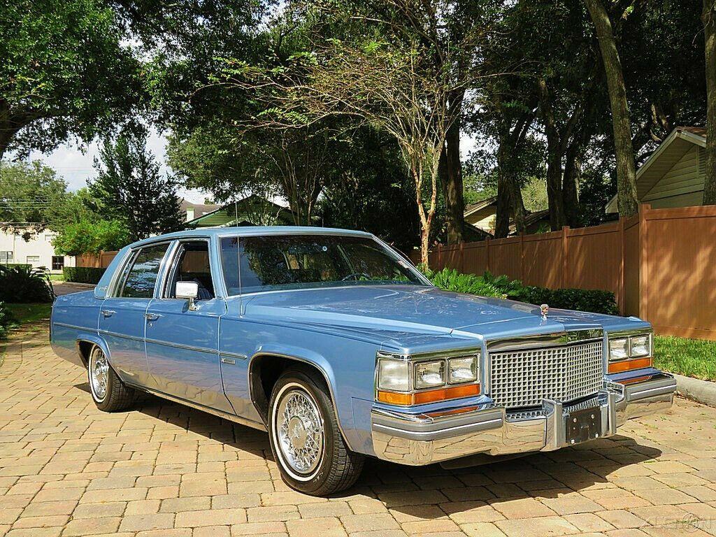 1981 Cadillac Deville Beautiful Sedan only 25k Miles!!
