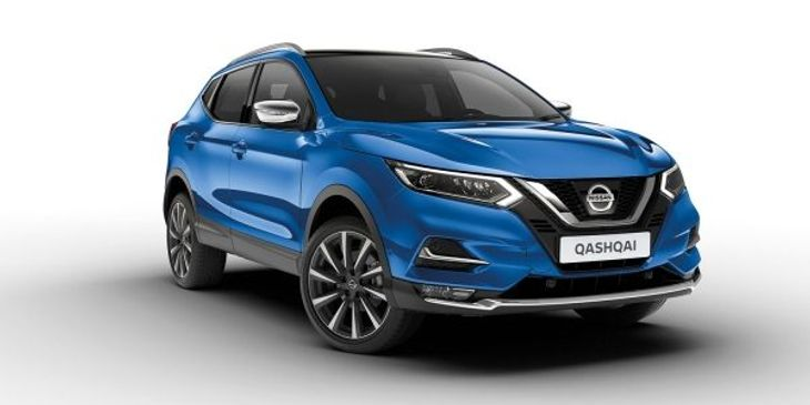 A promotional picture of a third generation Nissan QASHQAI