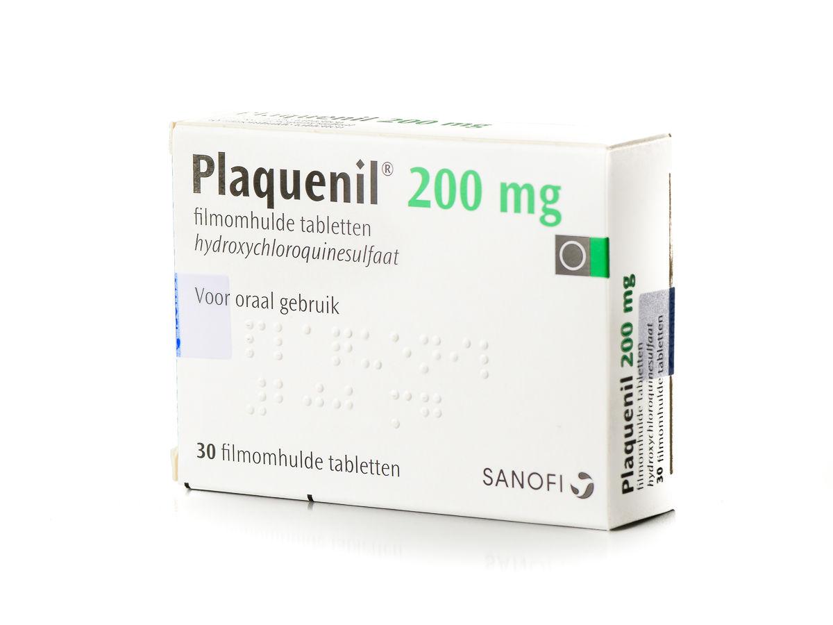 Plaquenil Tablet Omhuld 200mg
