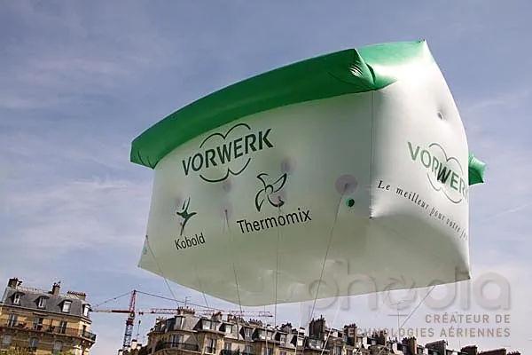 PLV gonflable en forme de maison gonflable pour vorwerk