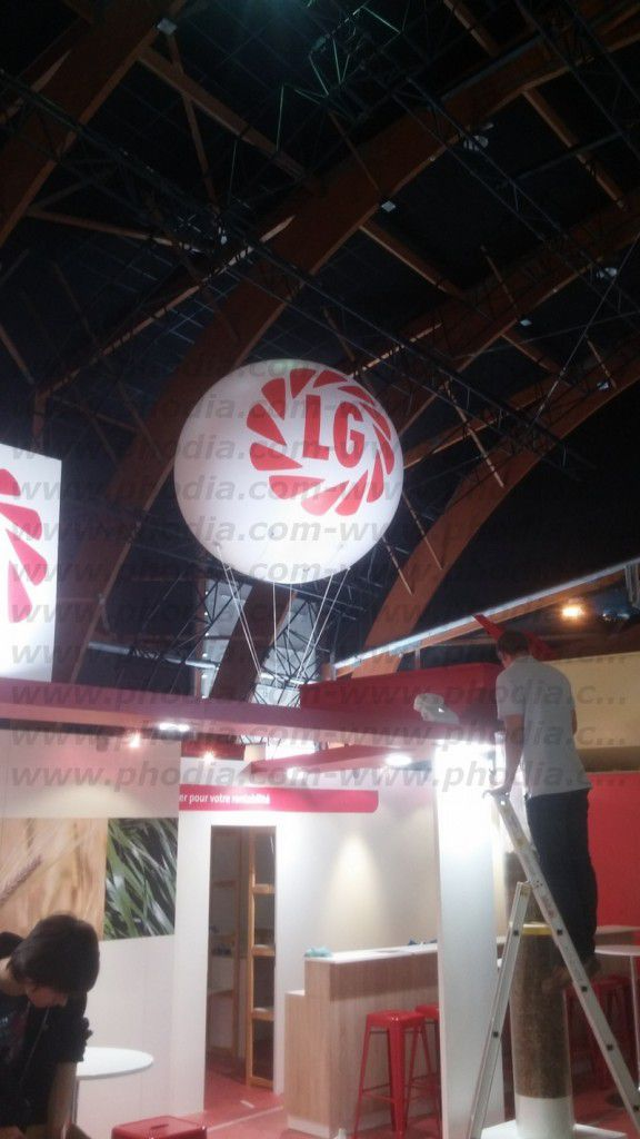 ballon hélium LG