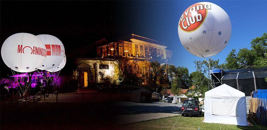 ballon éclairant mornning et havana club de 2.5m hélium