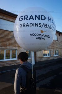 Accor hotels arena (ballon sac à dos 80cm)