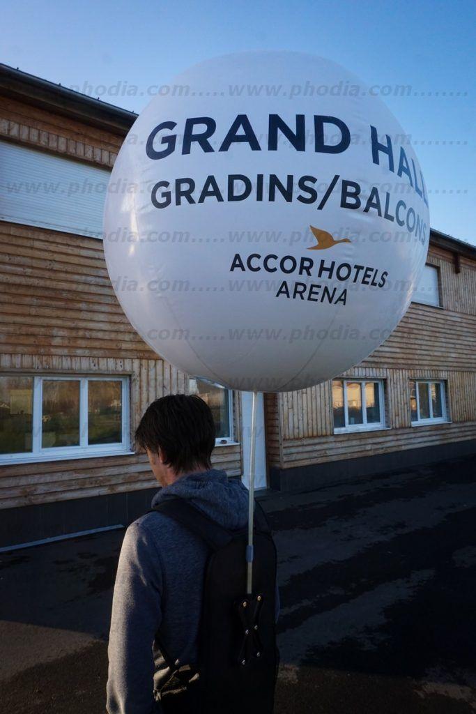 Accor hotels arena (ballon sac à dos 80cm)