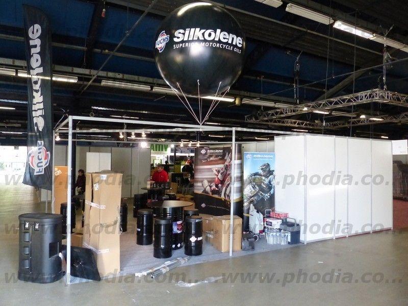 ballon helium personnalise noir