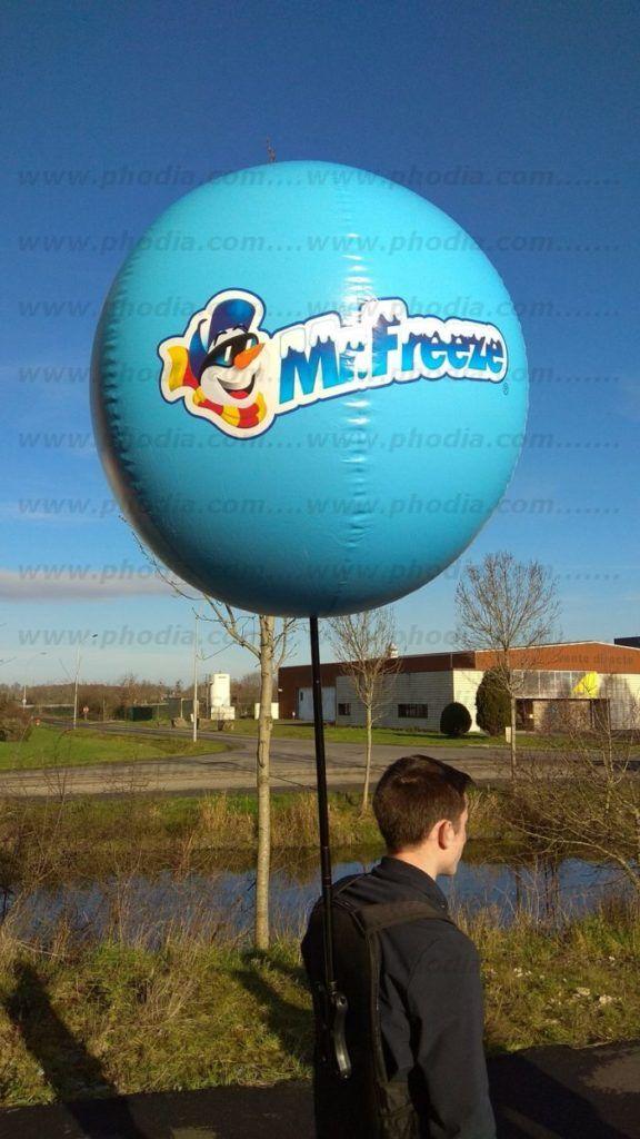 ballon sac a dos mr freeze