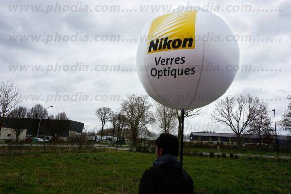 ballon sac à dos nikon