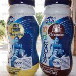 bouteille de lait gonflable geante