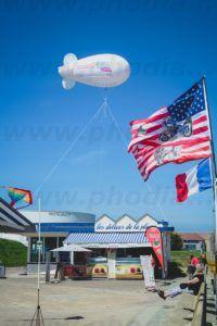 ballon dirigeable 7 m hélium normandie débarquement