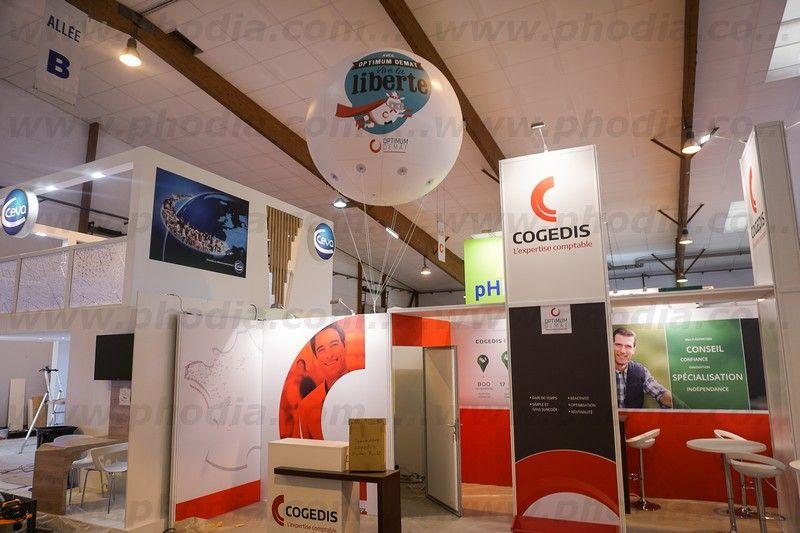 gonflable Cogedis salon space 2017