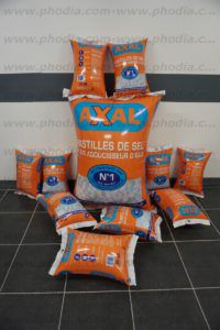 sac gonflable publicitaire axal