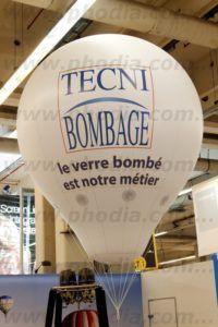 ballon montgolfiere techni bombage