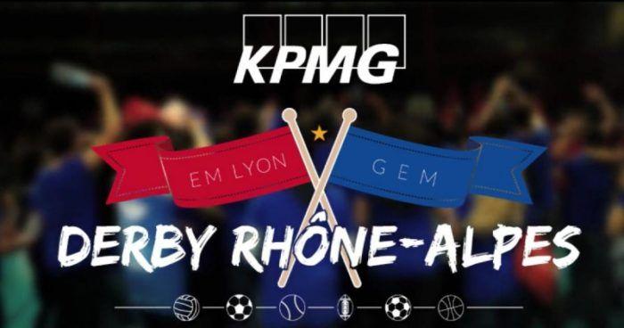 derby kpmg Rhones Alpes Em Lyon Gem Grenoble