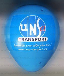 montgolfiere publicitaire unsa transport