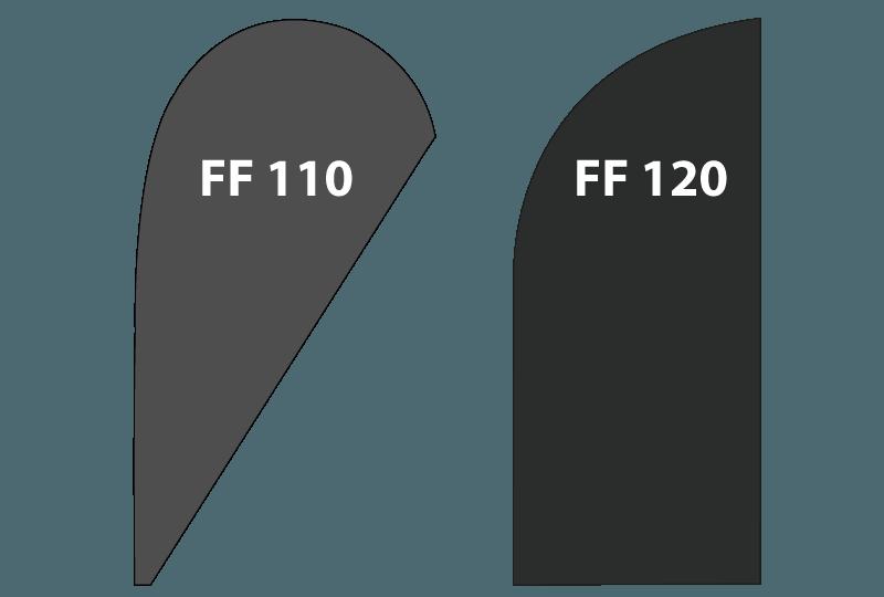 forme de drapeau sur sac a dos