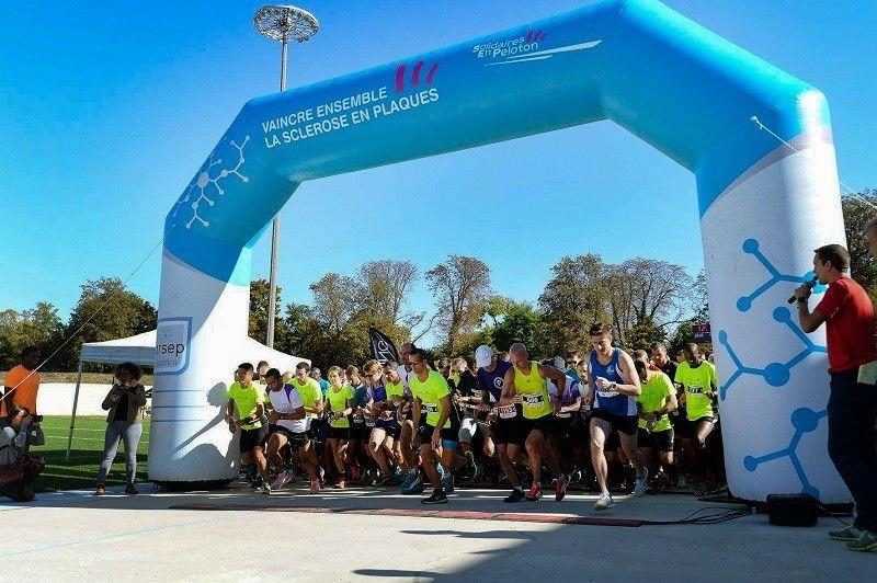 arche fondation arsep 6m blanche et bleue : course à pied pour vaincre ensemble la sclerose en plaques