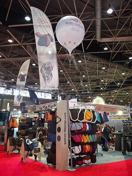 gros Ballon pin hélium Gaston Mercier salon equita lyon 2018