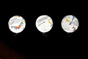 ballon rétro-éclairant cma94 salon de l'artisanat d'art val de Marne