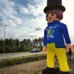 Un playmobil de 5m pour la ville de Mios