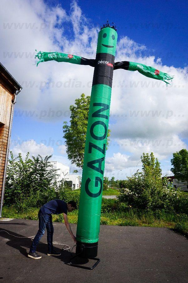 sky tube gazon décors discount de 6m de hauteur