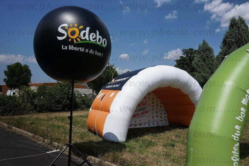 ballon sur trépied Sadebo