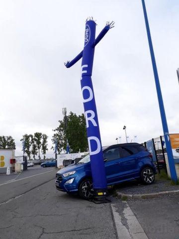 sky dancer bleu ford pour une concession