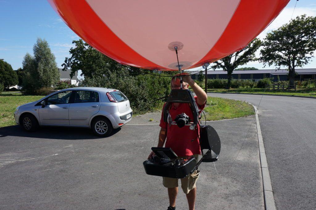 ballon dgac systeme de prise de vue aérien