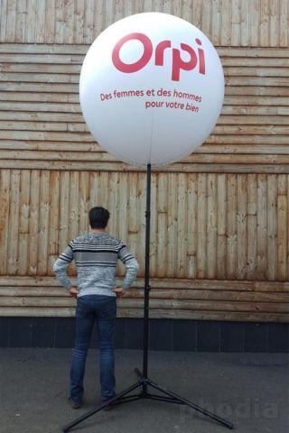 ballon orpi sur pied avec tripod de 2.70m