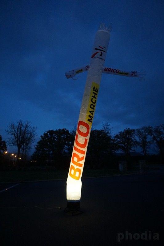 skydancer brico marché avec éclairage de 5 m