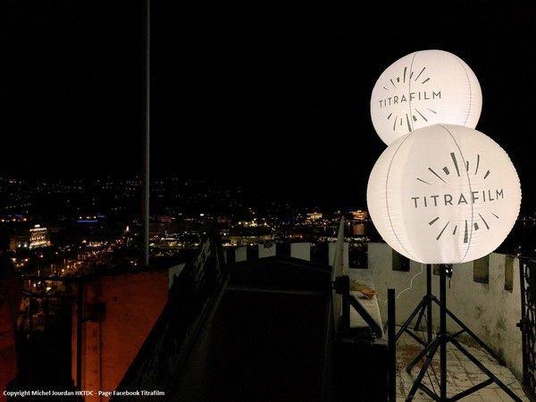 ballon éclairant sur mât réglable Titrafilm