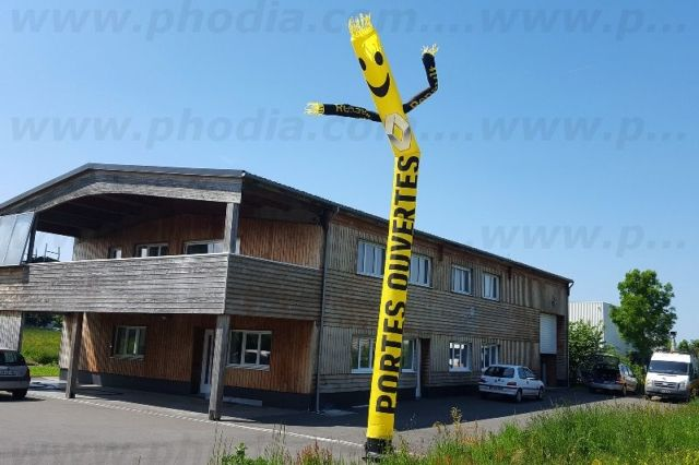 Portes ouvertes Renault Gueudet auto (skydancer 8m)