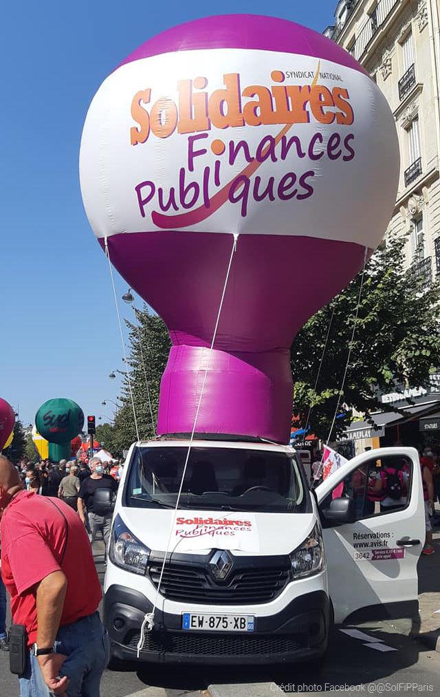 solidarites finances publiques manifestation paris