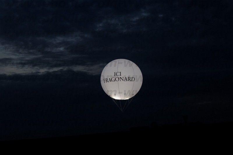 ballon 2.5m lumineux de nuit