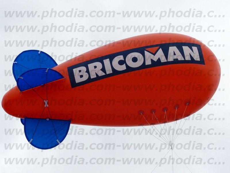 Bricoman dirigeable 6 hélium
