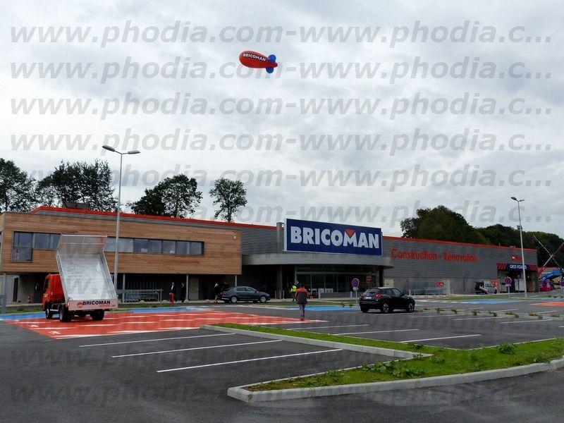 ballon sur le toit du Briocoman