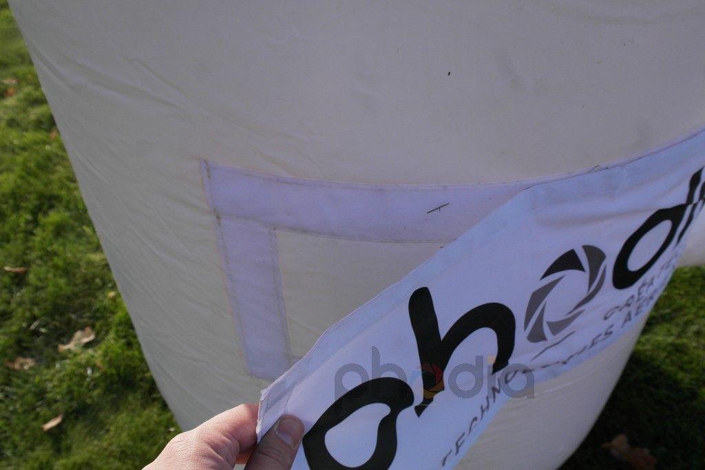 Mise en place d'une bannière publicitaire sur l'arche#