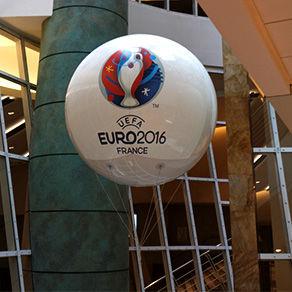 Ballon géant gonflable à l'hélium : 1,60m en PU