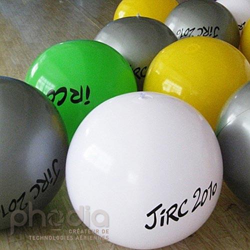 Ballons géants gonflables air : 60 cm en PVC