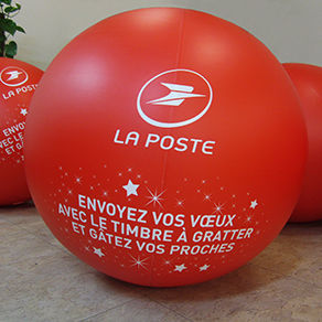 Ballon géant gonflable air : 80 cm en PVC