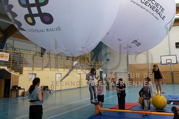 Ballons captifs au service de l'handicap