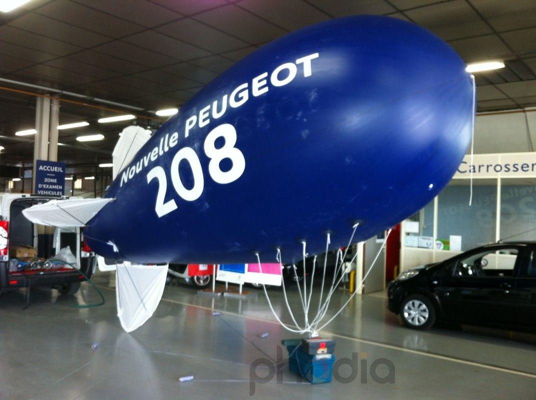 Gonflage du ballon Peugeot 208 à Dijon