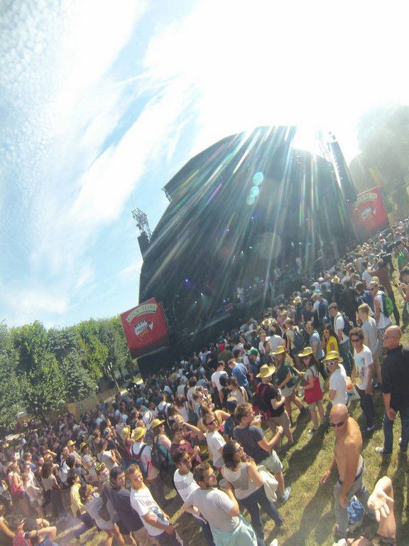 Photoball 'pression live' à Rock En Seine