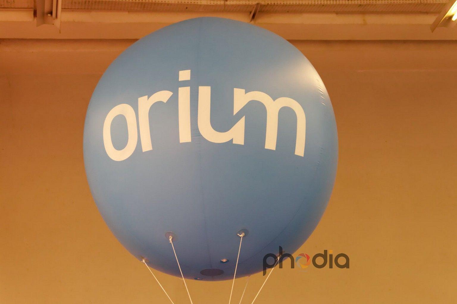 Gonflable publicitaire Orium au salon e-commerce 2011