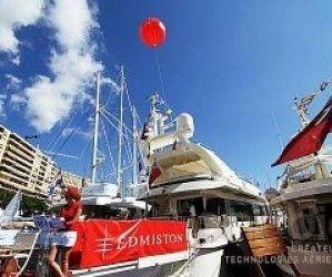 Ballons géants à l'hélium au Monaco Yatch Show