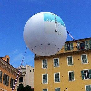 Ballon géant gonflable à l'hélium : 4m en PVC