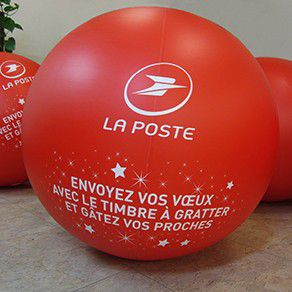 Ballon géant gonflable air : 80 cm en PVC