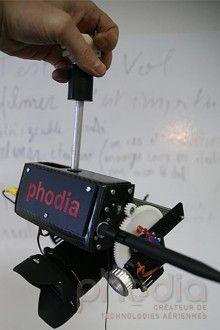 Nacelle photographie aérienne S3D Carbone