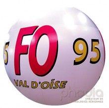 Ballon géant pour grèves